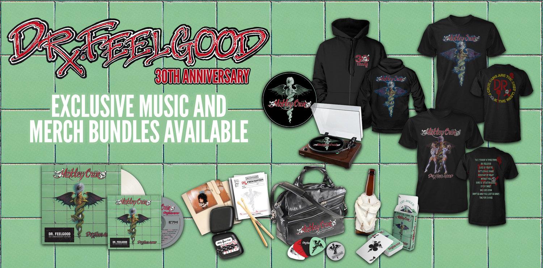 """Mötley Crüe lanzará contundentes ediciones de lujo por los 30 años de """"Dr. Feelgood"""""""