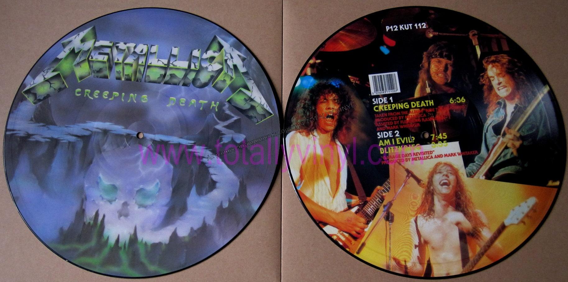 """Cancionero Rock: """"Creeping Death"""" – Metallica (1984)"""