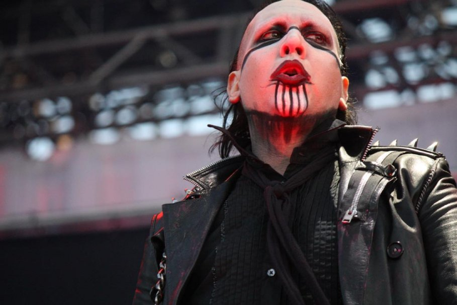 Marilyn Manson en Maquinaria 2012: Mecánica a media máquina