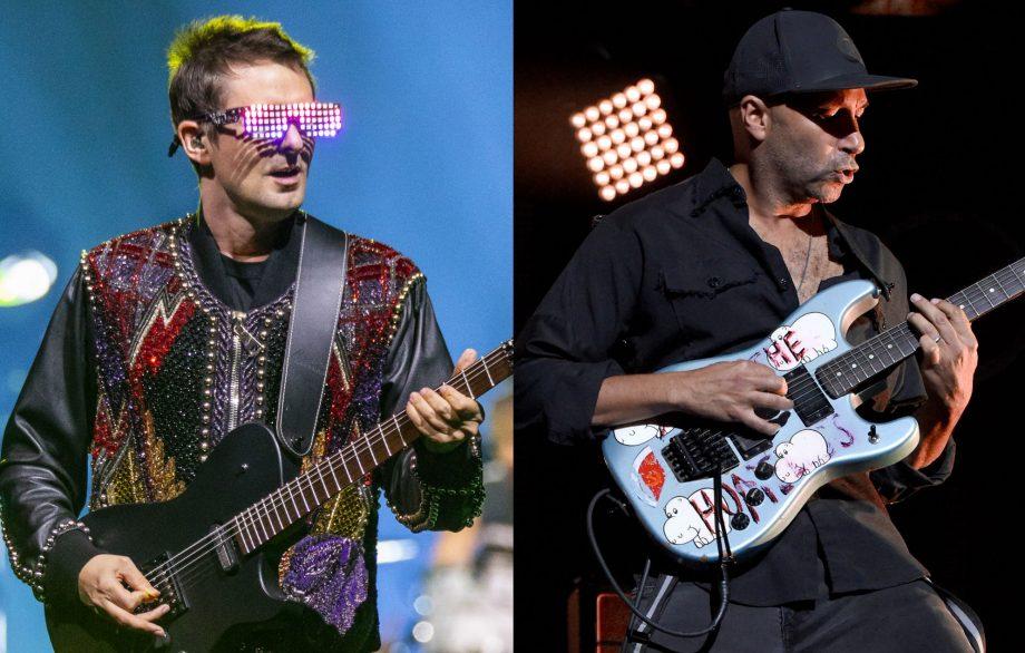 """VIDEO: Tom Morello se subió al escenario junto a Muse en su gira """"Simulation Theory"""""""
