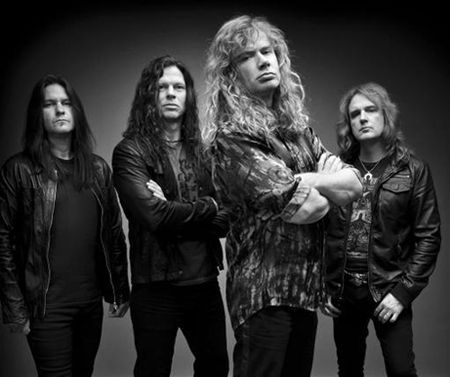 Megadeth entró al estudio para iniciar las grabaciones de su nuevo álbum