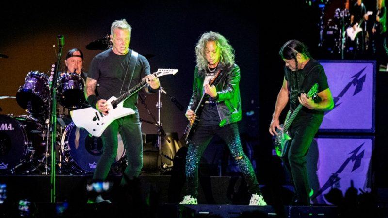 """Metallica tocó el """"Álbum Negro"""" completo en reversa en su reciente show en el festival Louder Than Life"""