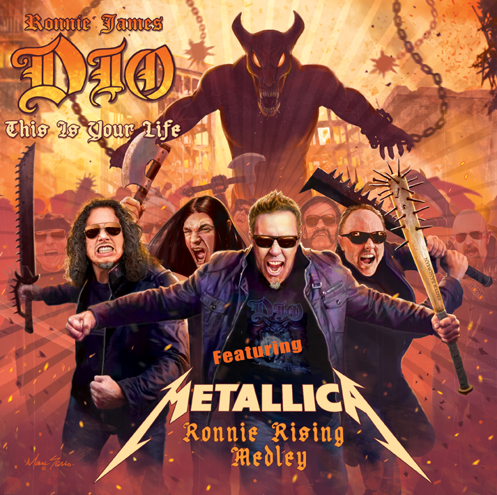 Escucha el poderoso tributo de Metallica a Ronnie James Dio