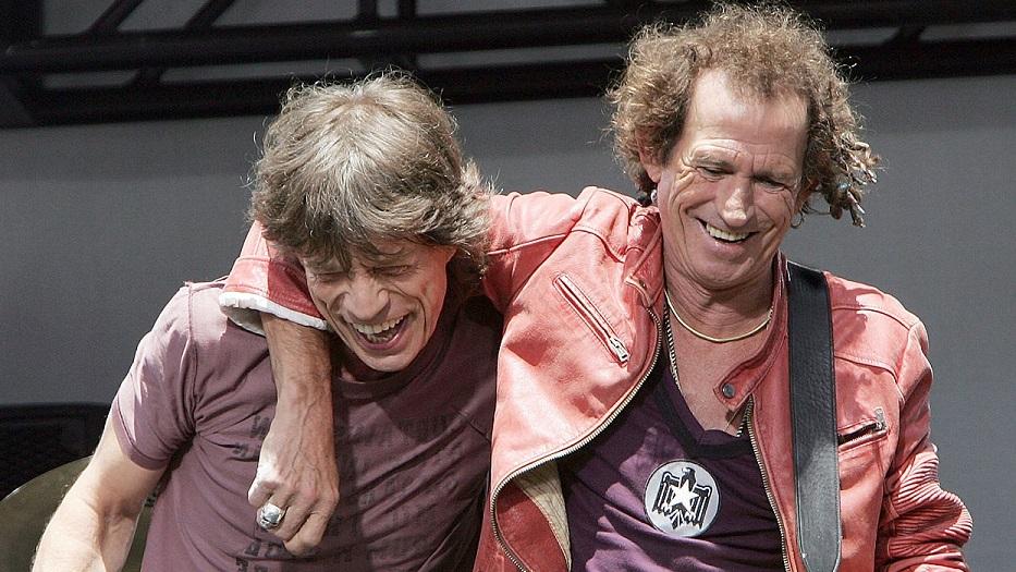 Mick Jagger y Keith Richards: hasta que la muerte los separe