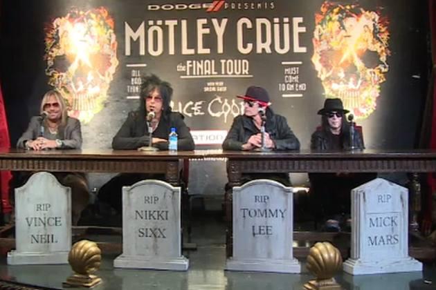 Mötley Crüe anuncia gira de despedida junto a Alice Cooper