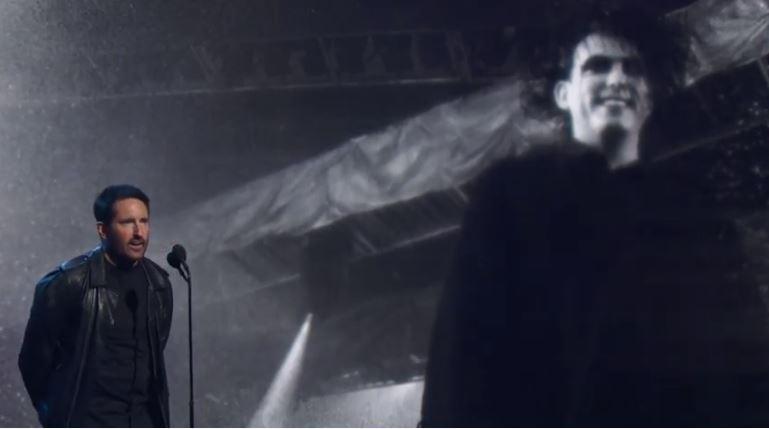 El día que Trent Reznor introdujo a The Cure al Salón de la Fama del Rock'n Roll