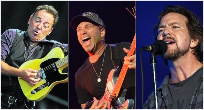 """Tom Morello lanza versión de """"Highway to Hell"""" con Eddie Vedder y Bruce Springsteen"""