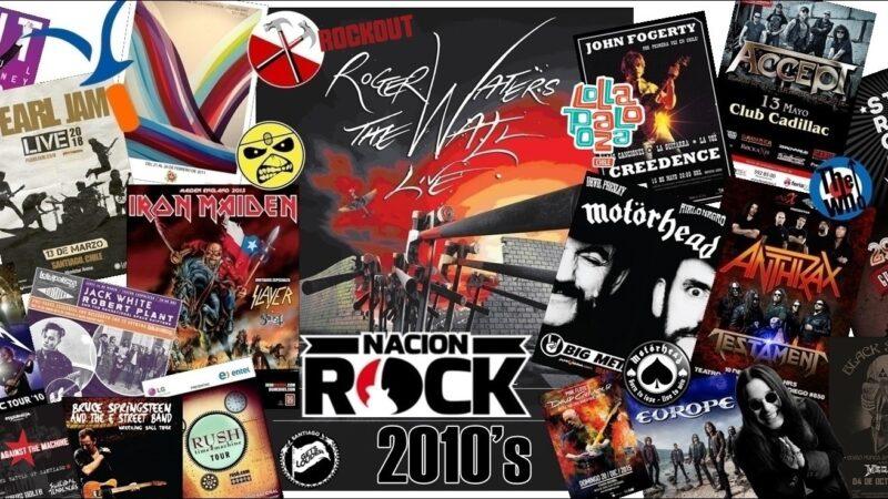 Los mejores conciertos internacionales de la década (2010-2019)