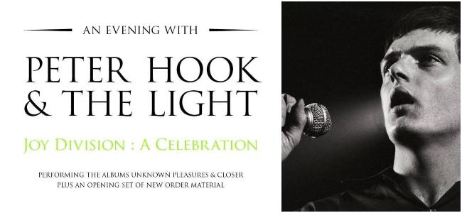 """Joy Division: A Celebration"": Peter Hook realizará gira centrada en el legado de Joy Division"