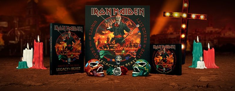 "Iron Maiden estrena nuevo álbum: escucha ""Nights of the Dead, Legacy of the Beast, Live in Mexico City"""