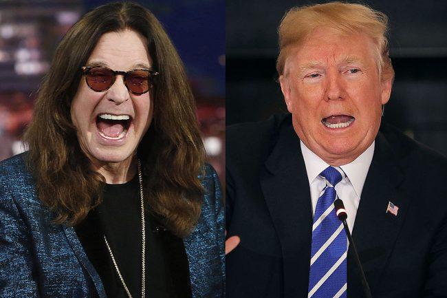 """Ozzy Osbourne envía aviso de prohibición a Donald Trump por usar sin permiso """"Crazy Train"""""""