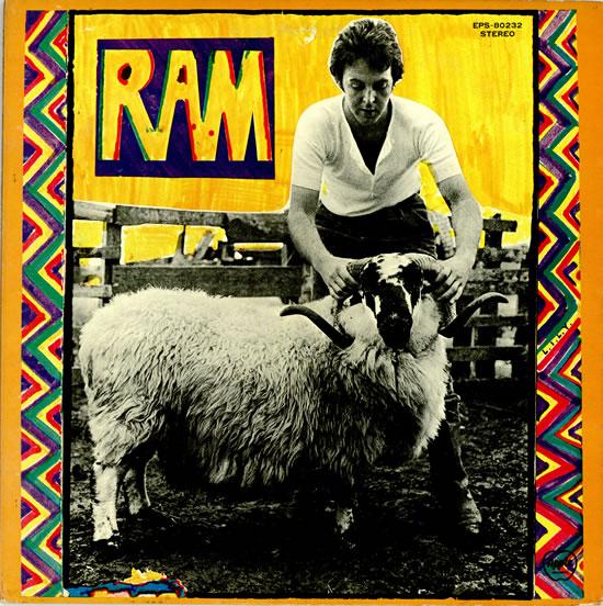 """Revisa detalles de la reedición del clásico """"Ram"""" de Paul McCartney"""
