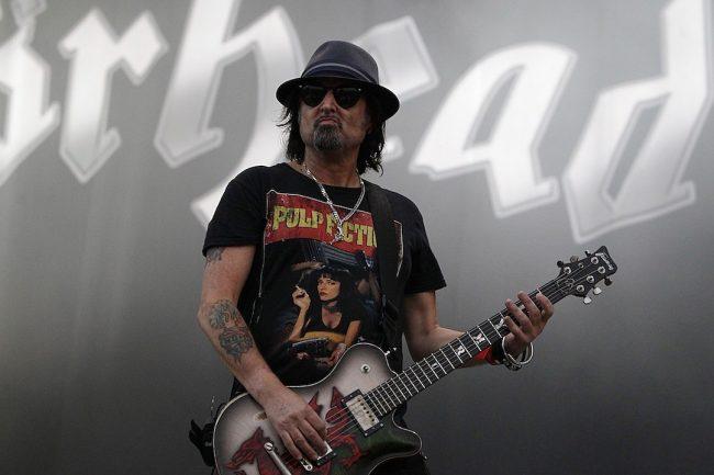 El guitarrista de Motörhead Phil Campbell anuncia nuevo disco junto a sólidas leyendas del metal