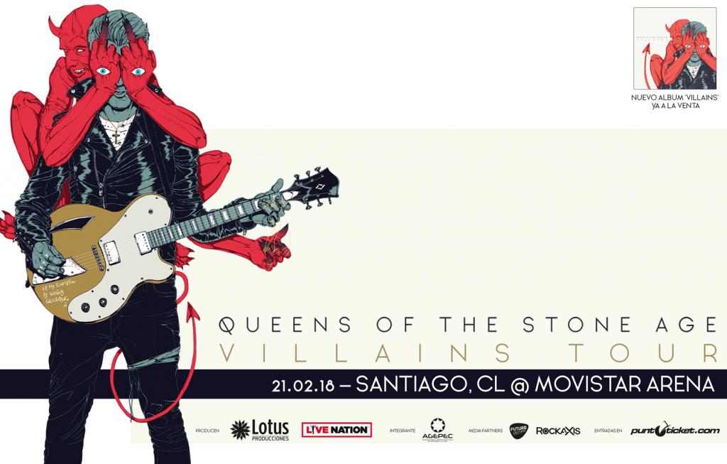 Queens of the Stone Age en Chile: Top ten de un setlist que no falla