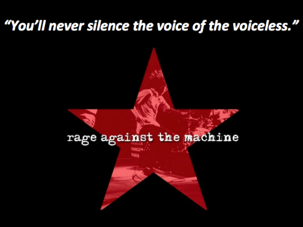 "Cancionero Rock: ""Voice of The Voiceless""- Rage Against The Machine (1999)"