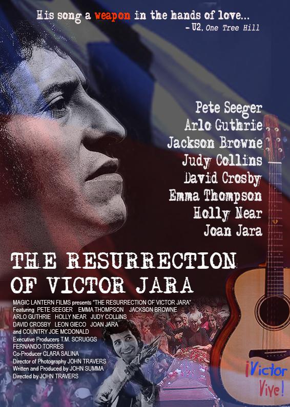 """Revisa todos los detalles y trailer del documental """"The Resurrection of Víctor Jara"""""""