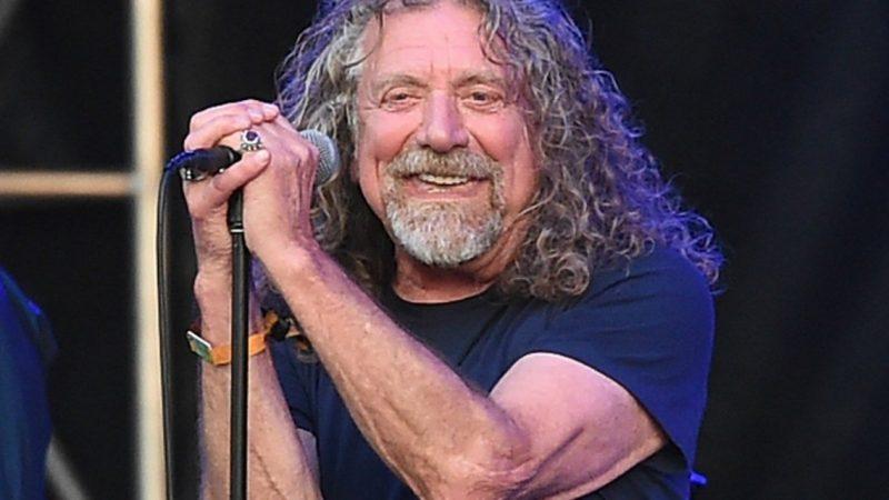 Robert Plant archiva toda su música y le ha dicho a sus hijos que lo liberen gratis cuando él muera