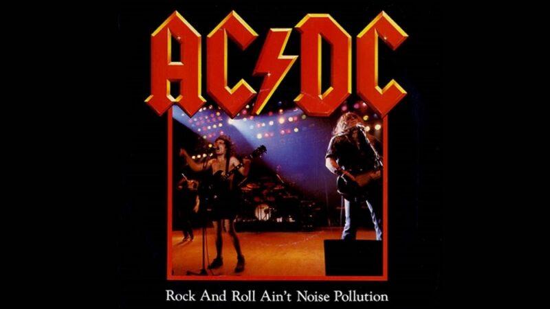 """Cancionero Rock: """"Rock 'N' Roll Ain't Noise Pollution"""" – AC/DC (1980)"""