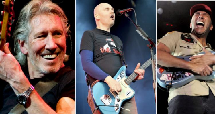 VIDEO: Roger Waters, Tom Morello y Billy Corgan interpretaron juntos 'Comfortably Numb'