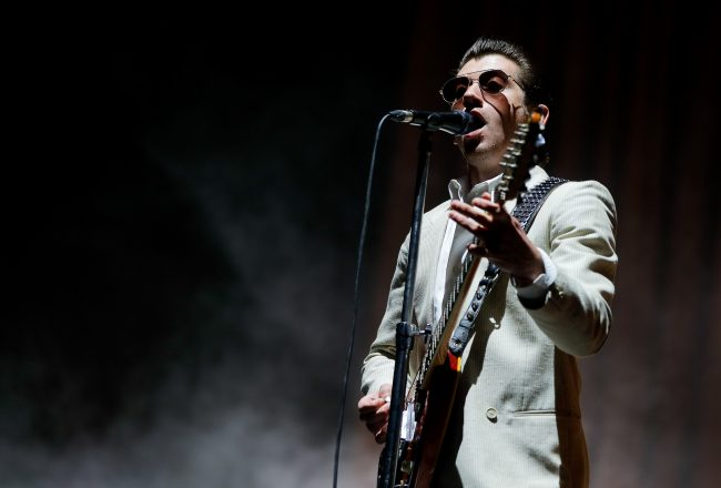 Arctic Monkeys en Lollapalooza: Calidad y elegancia