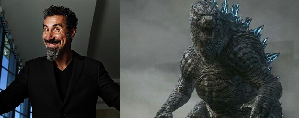 """Serj Tankian lanza cover de """"Godzilla"""" de Blue Oyster Cult para el soundtrack de la nueva película del legendario monstruo"""