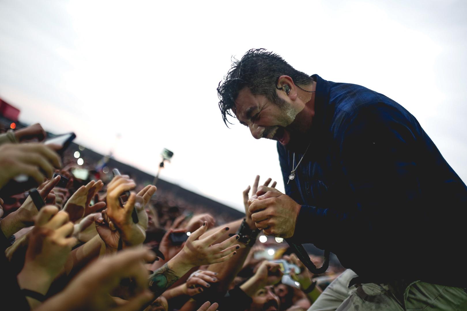 Deftones en Santiago Gets Louder 2015: Furia, magia y potencia al atardecer