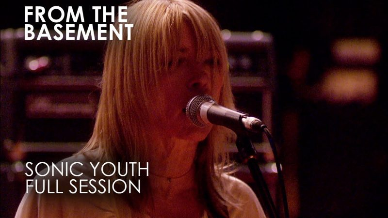 Liberan el gran Live from The Basement de Sonic Youth de 2007 vía streaming