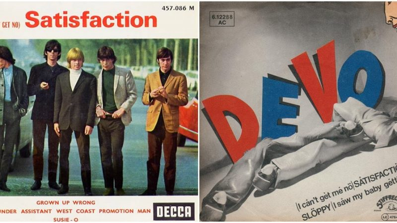 """2×1: """"(I Can't Get No) Satisfaction"""" The Rolling Stones vs. Devo"""