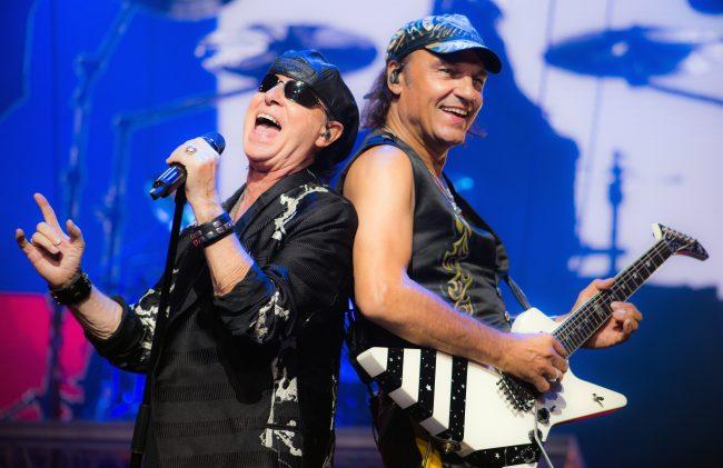 Scorpions entrará a grabar su nuevo disco con el productor de Metallica