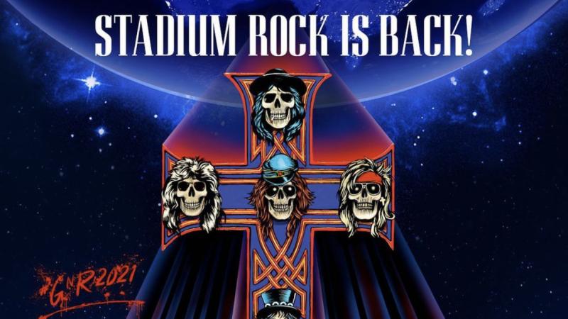 Guns N' Roses anuncia que volverá a las giras de estadios y prepara nuevo álbum
