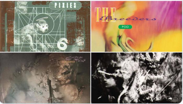 Ha fallecido el creador de las portadas de los discos clásicos de Pixies, Cocteau Twins, The Breeders y Dead Can Dance