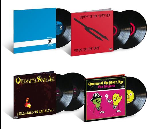 Queens Of The Stone Age lanzará en vinilo cuatro de sus más grandes álbumes