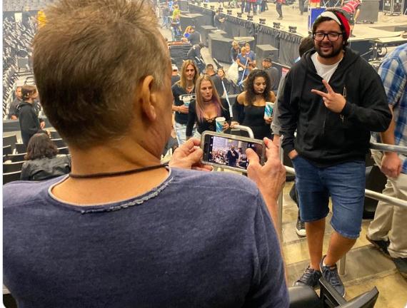 Fan de Tool le pidió a Eddie Van Halen que le sacara una foto sin reconocerlo