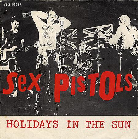 Los Sex Pistols editan video de 'Holidays in the Sun' 35 años después