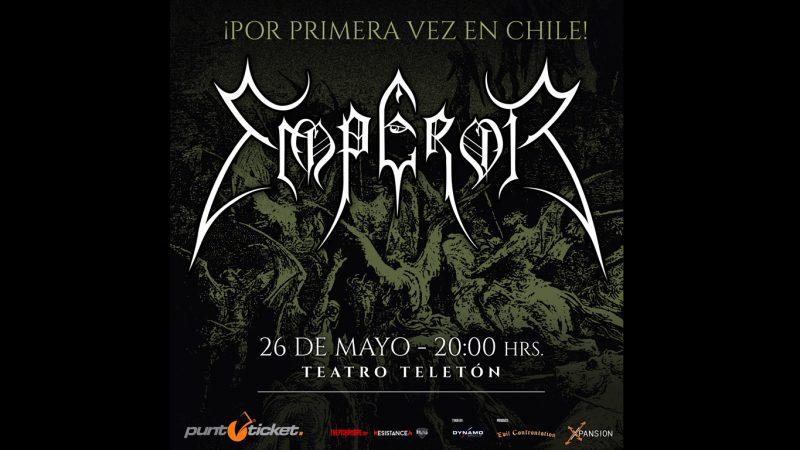 La espera llegó a su fin: Emperor agenda visita a Chile por primera vez