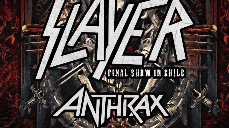 Histórico: Anthrax y Slayer realizarán un show juntos en Viña del Mar