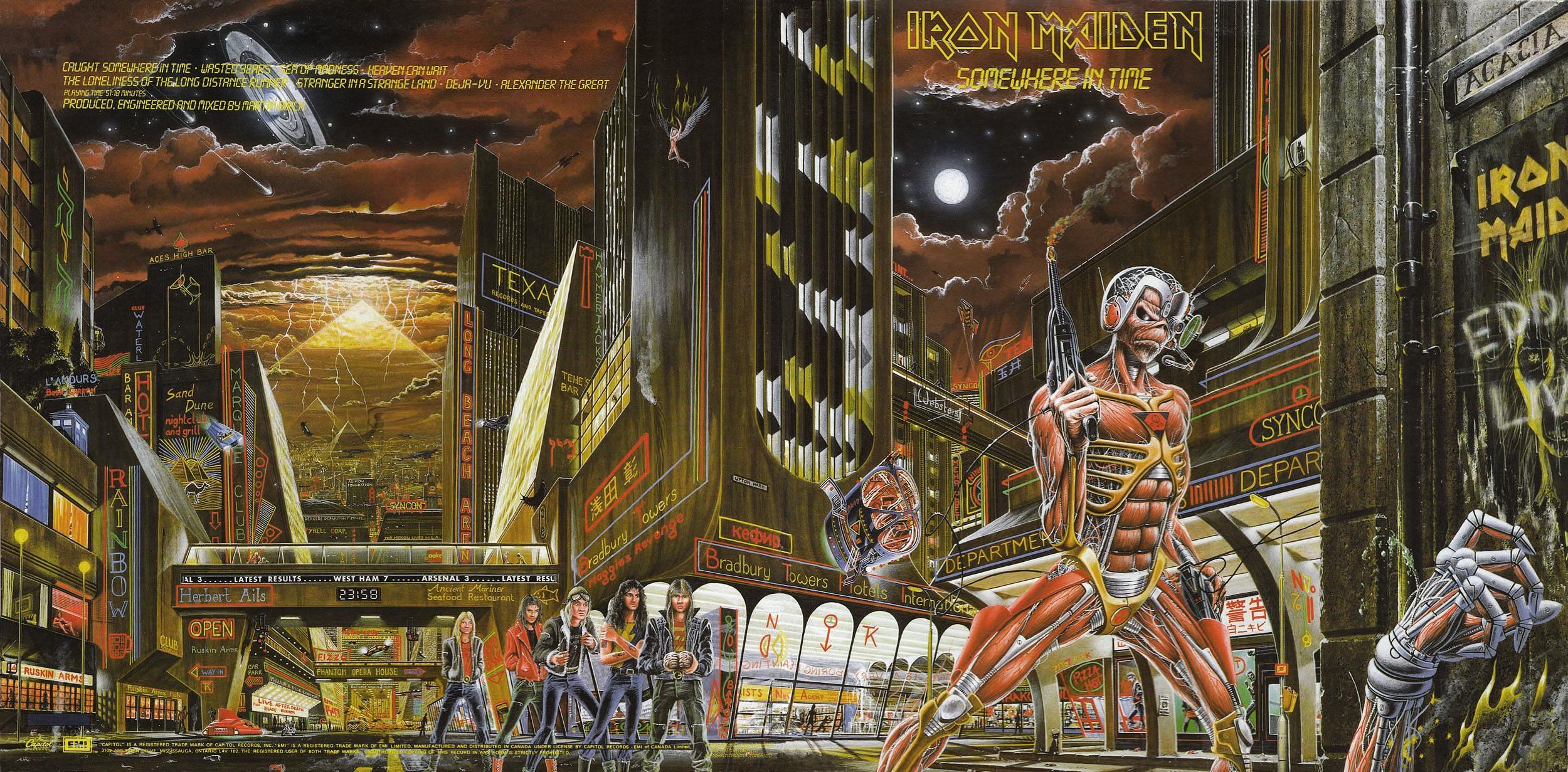 Disco Inmortal: Iron Maiden – Somewhere in Time (1986)