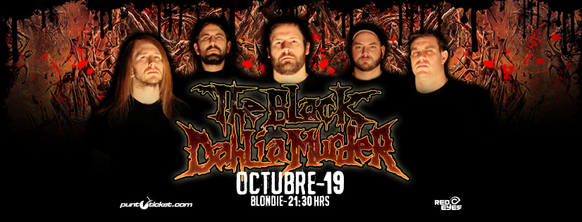 Se confirma concierto de The Black Dahlia Murder en Chile