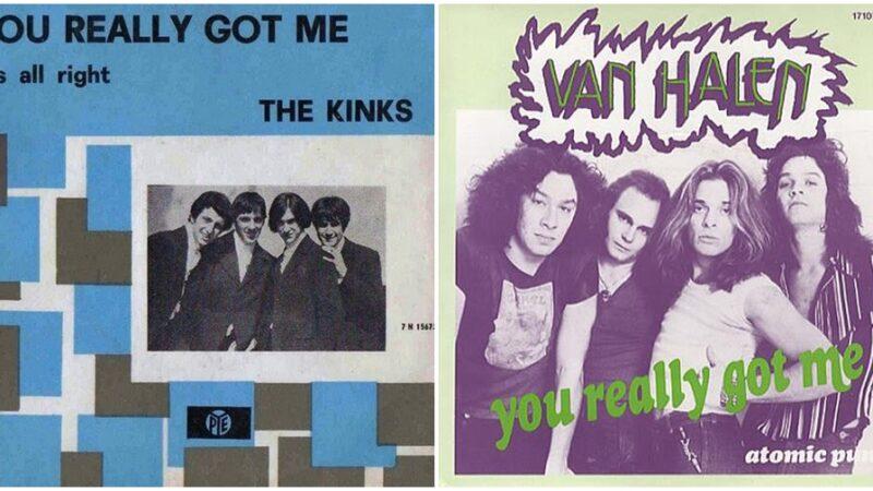 "2×1: ""You Really Got Me"" The Kinks vs. Van Halen"