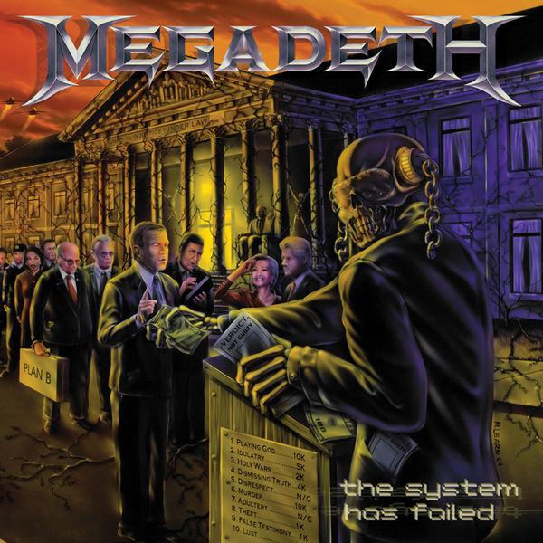 "Grandes Portadas del Rock: Megadeth – ""The System Has Failed"" (2004)"