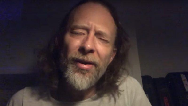 VIDEO: Thom Yorke estrena nueva canción en el show de Jimmy Fallon