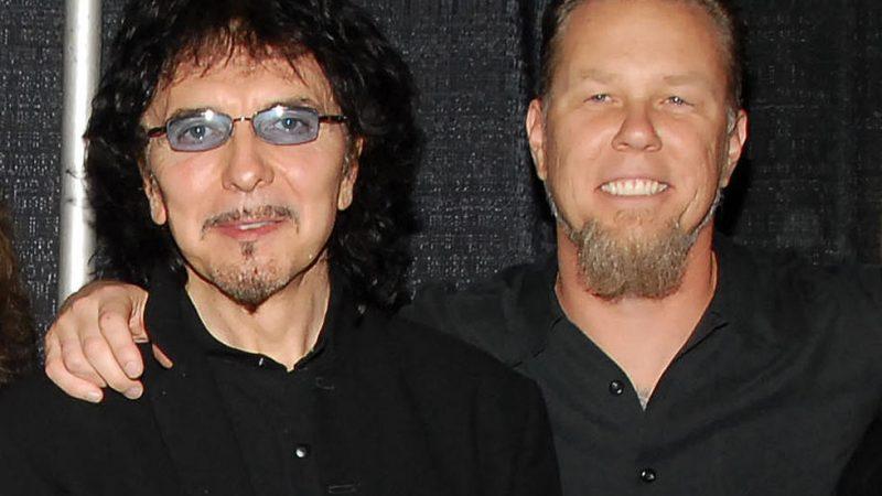 Tony Iommi de Black Sabbath envía mensaje de apoyo a James Hetfield de Metallica