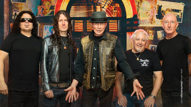 Los legendarios británicos de UFO agendan su primer concierto en Chile