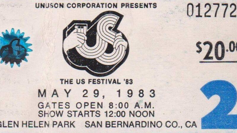 Conciertos que hicieron historia: US Festival – Heavy Metal Day (1983)