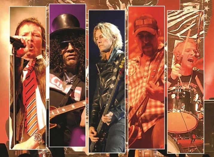 """NR En Vivo: """"Let It Roll – Live in Germany"""", la despedida de Velvet Revolver"""