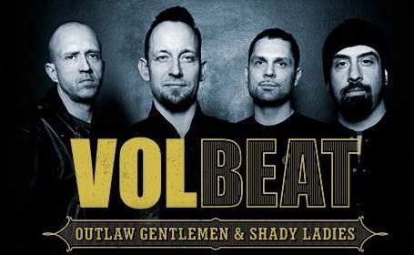 Volbeat anuncia que ya trabaja en un nuevo disco de estudio