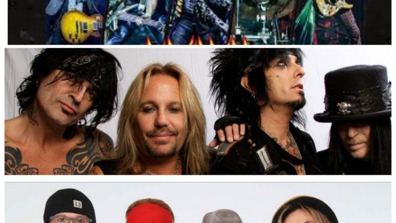 Mötley Crüe, Def Leppard y Poison saldrán de gira juntos en 2020