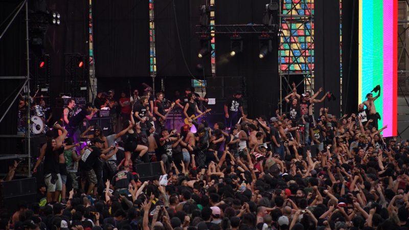 """""""No somos nada"""": concierto de La Polla Records en Chile fue suspendido por disturbios"""