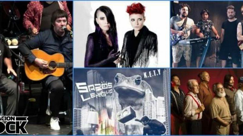 Nación Rock Chile Vol. I: primer compilado 2021 con los recientes singles y novedades de música chilena