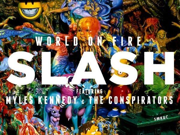 """""""World on Fire"""": un virtuoso Slash al servicio del rock"""